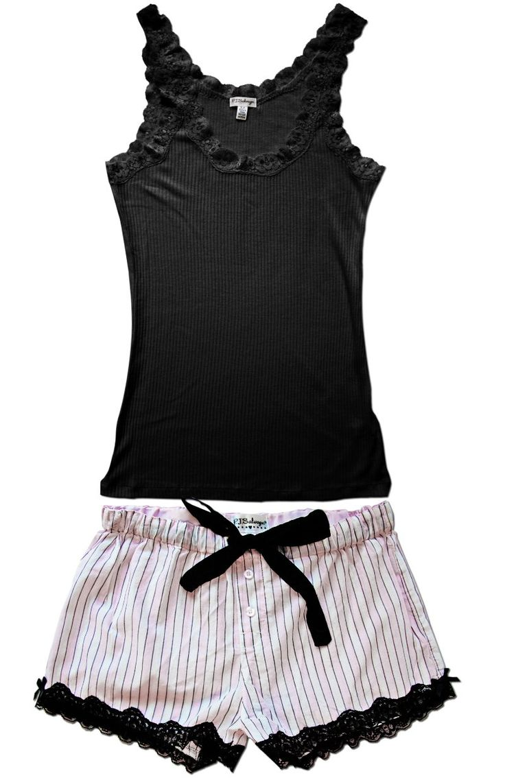 EYE CANDY SHORTS SET, STRIPED Comfiest pj's EVER.