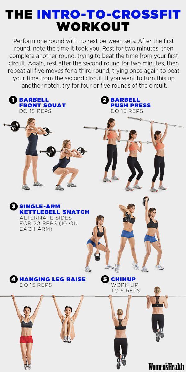 A 5-Move Intro to CrossFit | Women's Health Magazine