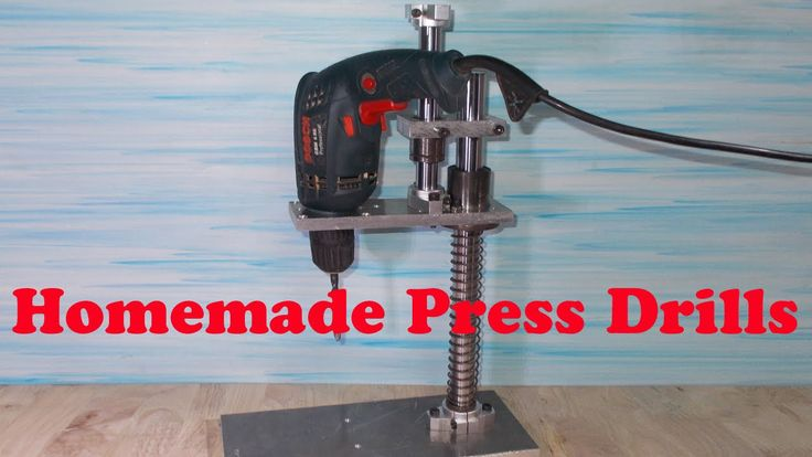 Homemade Mini Press Drill Home Made Circuit Board Pcb Lathe Headstock