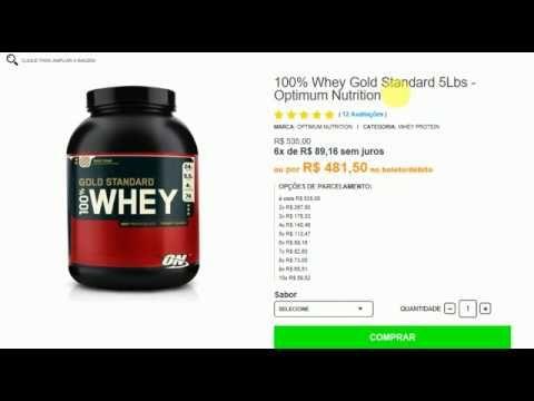 100% Whey Gold Standard 5Lbs - Optimum Nutrition
