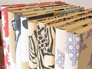 Album de fotos con tela de ropa para Jazmin Chebar.  Tela de la colección.
