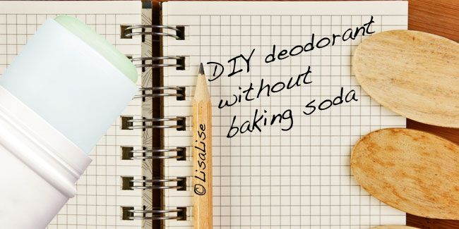 LisaLise - Natural Skin Care: How To: DIY Deodorant Without Baking Soda