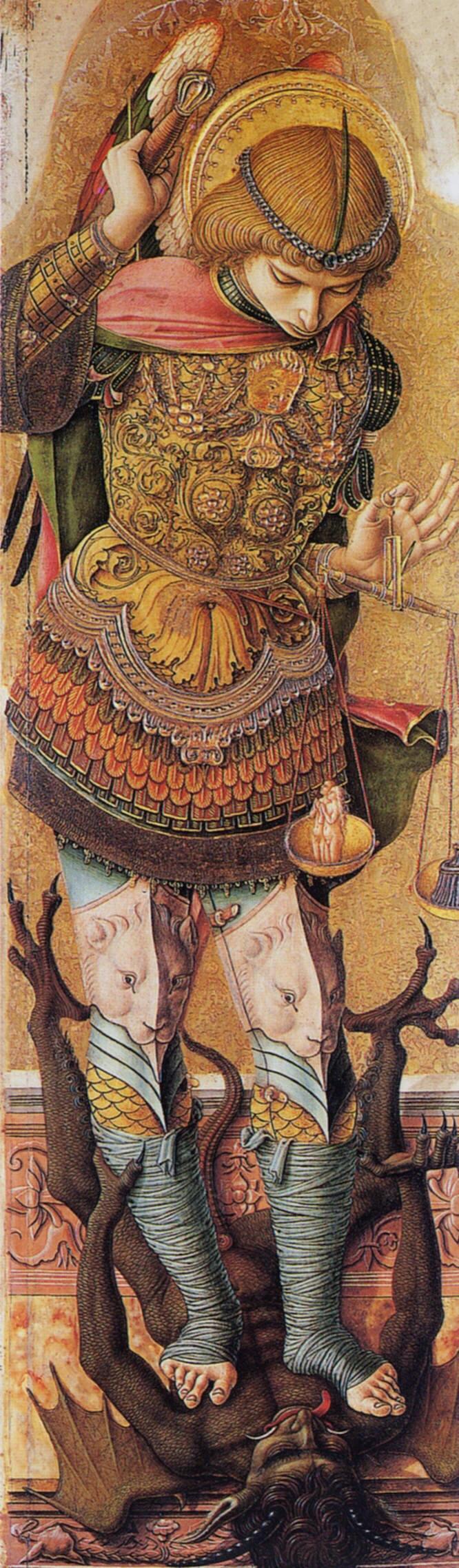 CRIVELLI, Carlo St. Michael c1476