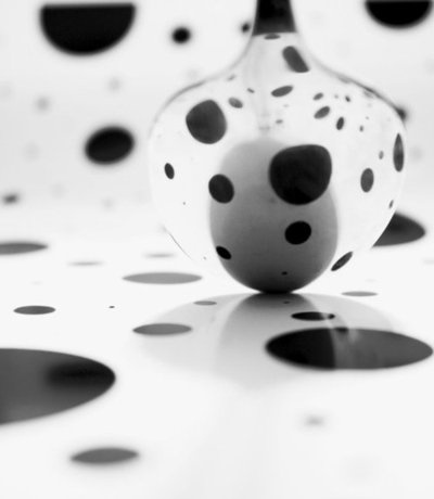 Polka Dots, Poka Dots, Dots Spoons, Dots Pop, Black White, Small Pea, Silent Voice, Photography, Monochrome Mixed