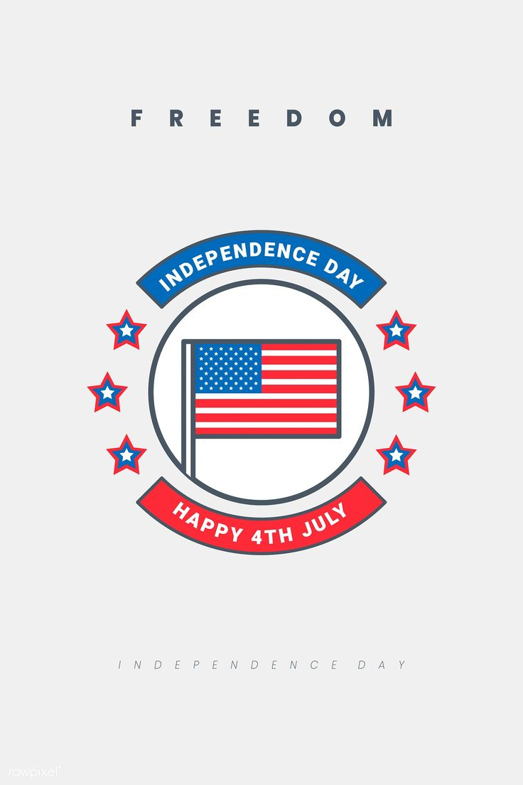 Download premium vector of American independence day badge vector 939296