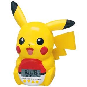 Pikachu Pokeball Clock