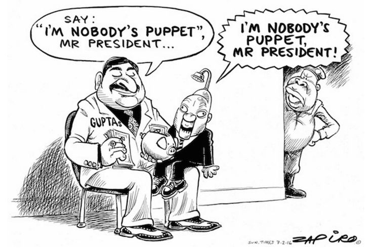 The Zupta business empire is unravelling like Ernest Hemingway described the way a man goes bankrupt - gradually then suddenly.