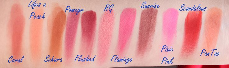 Complete Sleek Blush Swatches ~ Makeup and Beauty Blog - A Little Obsessed