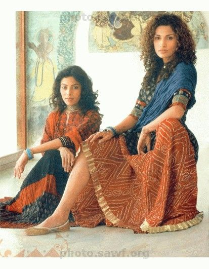 ethnic style clothing | ... Ethnic Indian Long Skirt for Women - It's the latest in Indian fashion