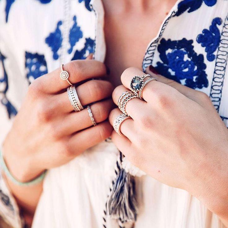 pandora anillos apilables