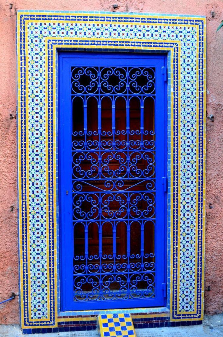 """Marrakech, Morocco. (Morocco-so colorful, good food, where """"Casablanca"""" was set…"""