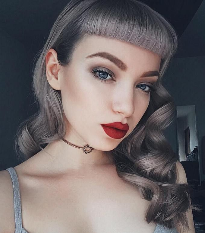 Vintage Pin Up Hairstyles 13