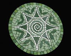 Mandala de mosaico - Natureza