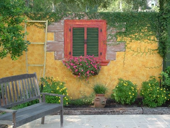71 best images about italian landscaping on pinterest for Italian courtyard garden design ideas
