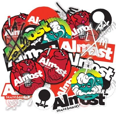 Almost Wack Pack - Assorted - Sticker - Other - Skate