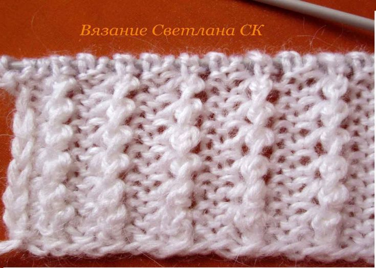 "Узор спицами, видео на канале ютуб ""Вязание Светлана СК"" #knittingpattern #pattern"
