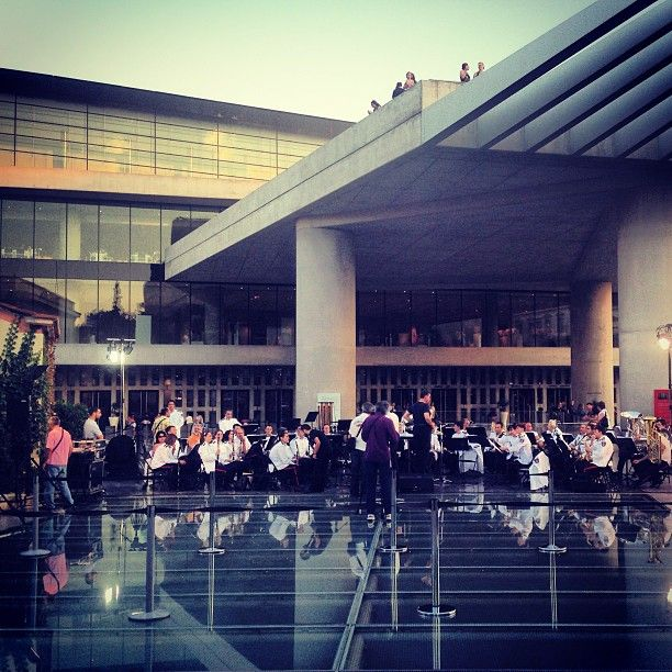 #ShareIG European Music Day - The Philharmonic Orchestra of the City of Athens at the Acropolis Museum #acropolis #museum #parthenon #athens #music #day #europeanmusicday #orchestra #philharmonic