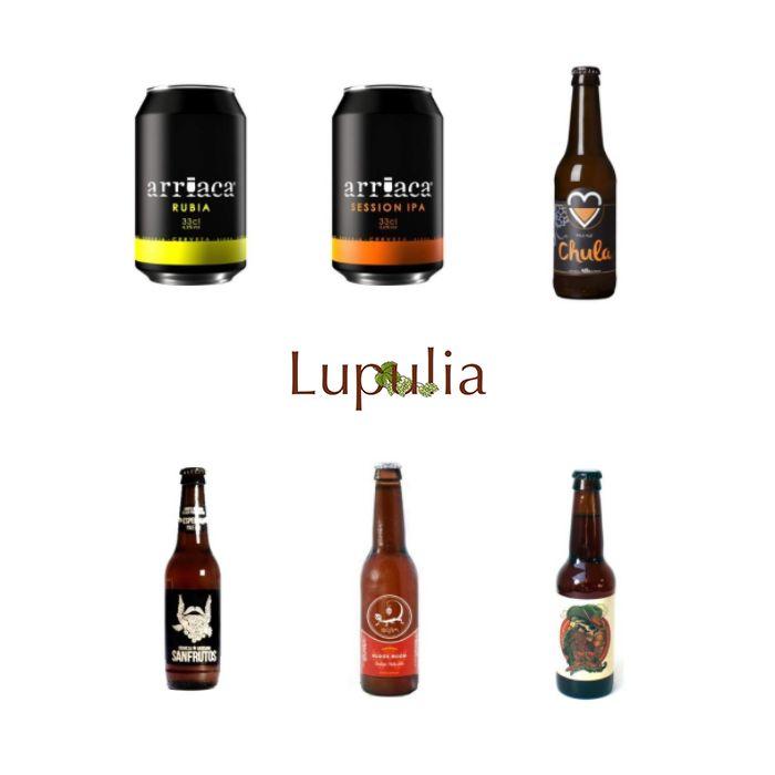 Los Jueves Cervceros de Lupulia te traen una selección de cervezas artesanas a un precio increíble. ¡Promoción especial!