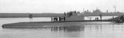 Dutch submarine in WW 2 - O 15, IJmuiden 14 June 1935