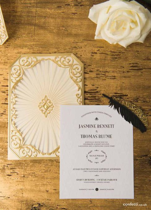 84 best Art Deco Weddings images – Art Deco Wedding Invitations Uk