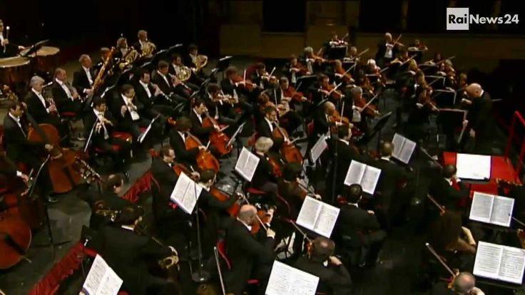 Claudio Abbado; L'Omaggio del Teatro alla Scala di Milano con l'Orchestra Filarmonica
