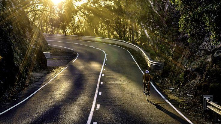Morning ride - Triathlete training