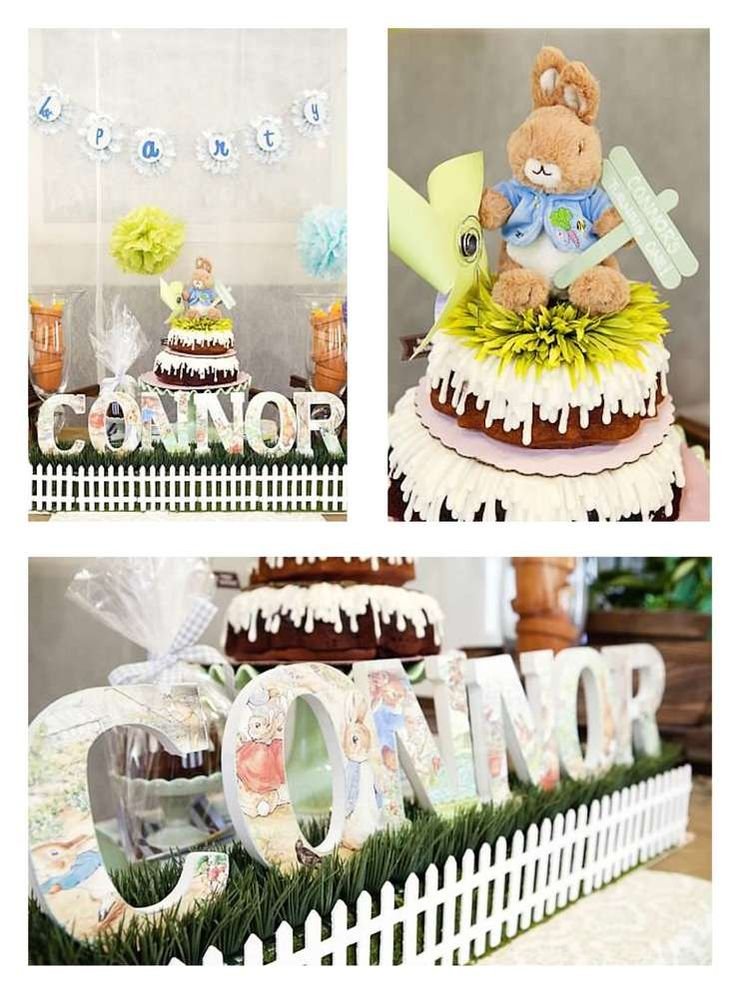 Peter Rabbit Birthday Party Ideas | Photo 2 of 16 | Catch My Party