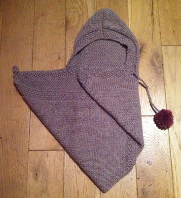 Baby Snuggle Wrap - knitting pattern