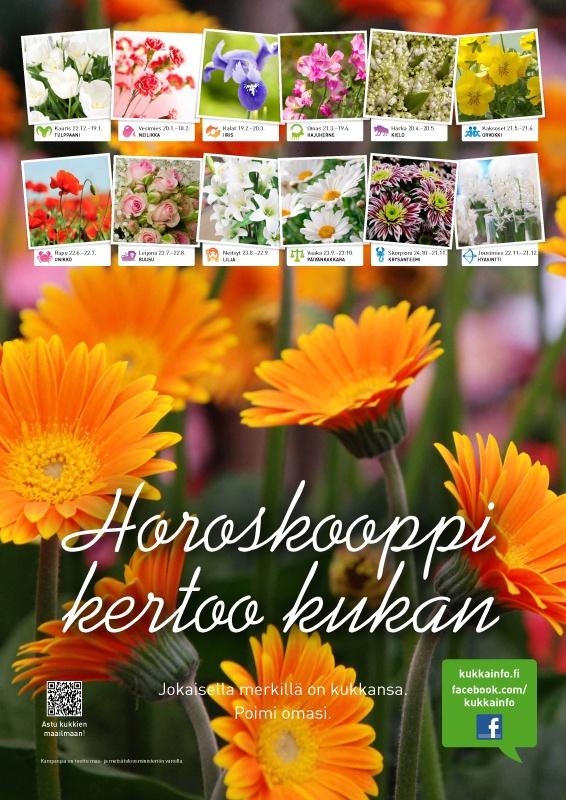 Kukkainfo.fi -> Horoskooppi kertoo kukan 2012