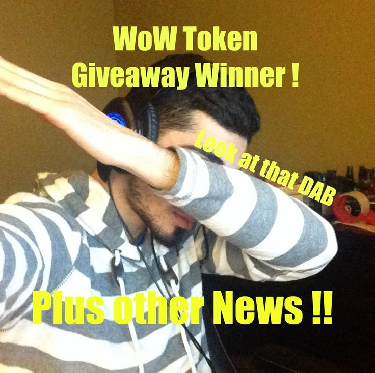 WoW Token Giveaway Winner Part#2 ! As well as other news !