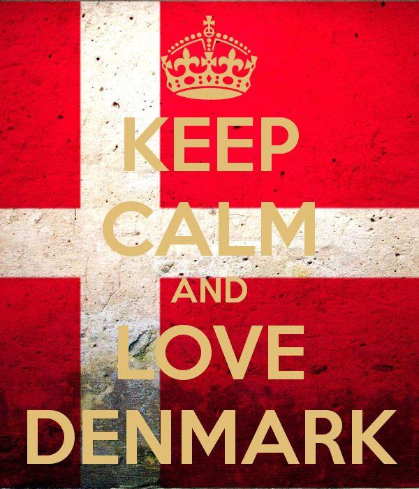 Keep Calm And Love Denmark