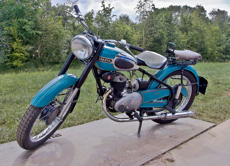 1950 Sparta 200 197cc Villiers Single Cylinder 2-Stroke Engine