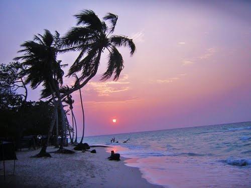 Playa Blanca (White beach), Colombia