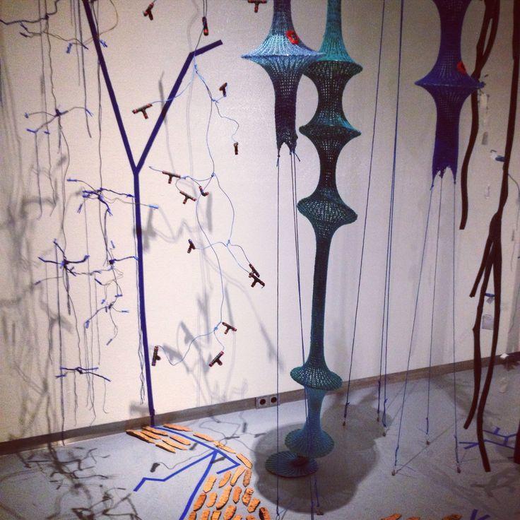 #installation #wireworld #karingerfen #stedelijkmuseumzwolle