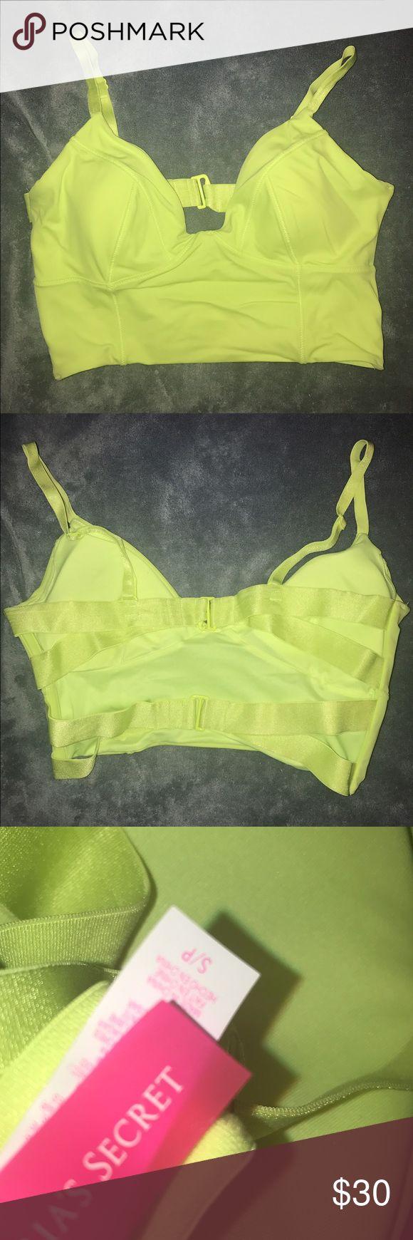 Victoria Secret Bikini Top Neon Victoria's Secret Swim Bikinis