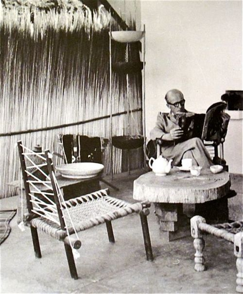 pierre jeanneret's house, chandigarh india 1954 - 1965