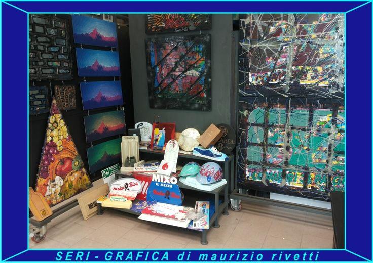 SERI-GRAFICA di maurizio rivetti Serigrafie industriali e artistiche su qualsiasi materiale