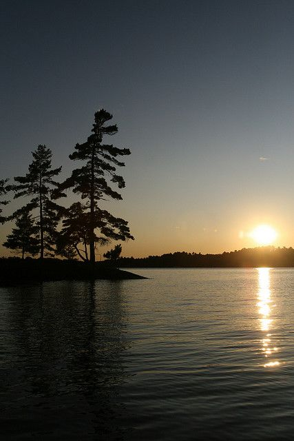 Muskoka sunsets