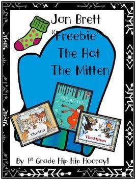 Jan Brett's The Hat and The Mitten Freebie