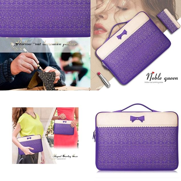 5f16d9b8031a WWW 13-14Inch Water Resistant Laptop Sleeve Case with Handle and ...