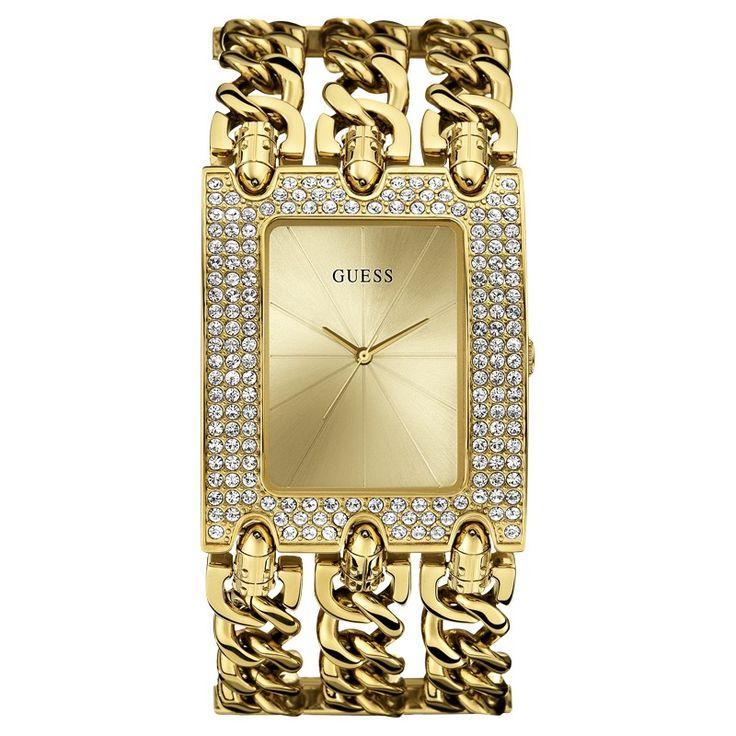 Guess Damenuhr W0315L2 Gold