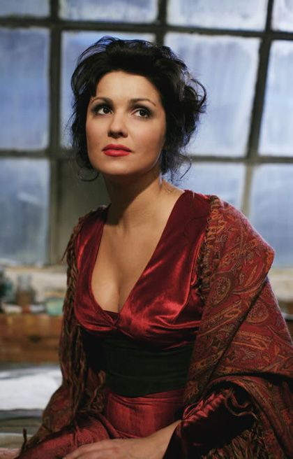 Mimi - La Boheme.  Anna Netrebko is always luminous.