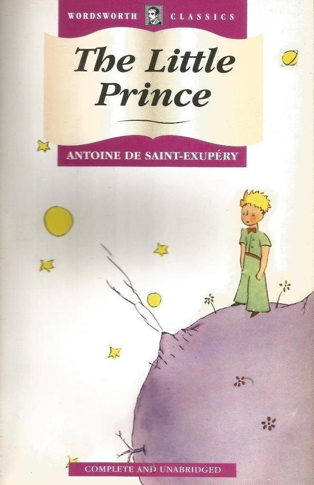 The Little Prince by Antoine De Saint-Exupery - Paperback -  S/Hand