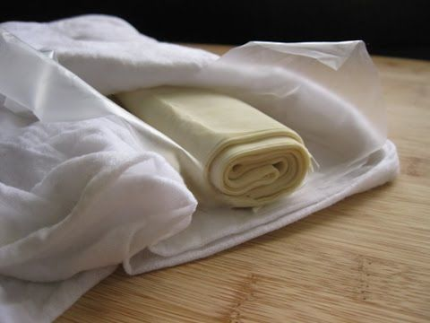 Греческое тесто фило без яиц Рецепт теста