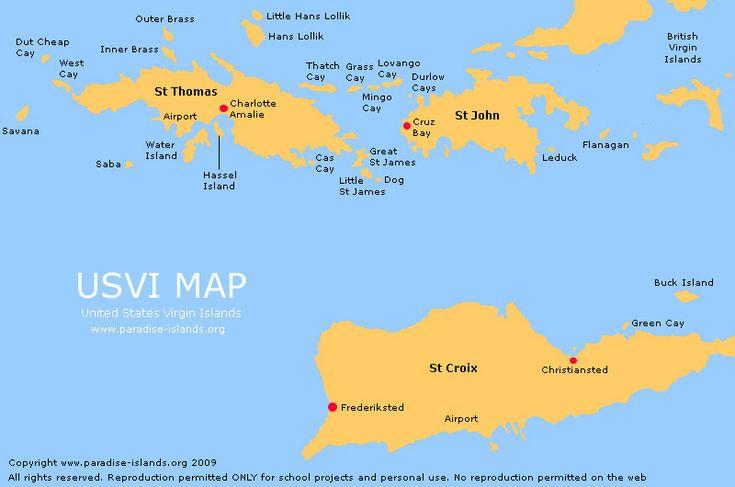 St Thomas USVI US Virgin Islands Travel Guide