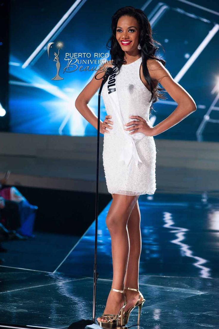 MISS UNIVERSE 2015 :: PRELIMINARY COMPETITION OPENING | Whitney Houston De Abreu Shikongo, Miss Universe Angola 2015, on stage in fashion by Sherri Hill and footwear by Chinese Laundry during the opening of The 2015 MISS UNIVERSE® Preliminary Show at Planet Hollywood Resort & Casino Wednesday, December 16, 2015. #MissUniverse2015 #MissUniverso2015 #MissAngola #WhitneyHoustonDeAbreuShikongo #PreliminaryCompetition #Opening #LasVegas #Nevada