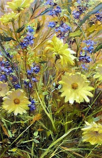 Oil painting by artist Bill Inman.