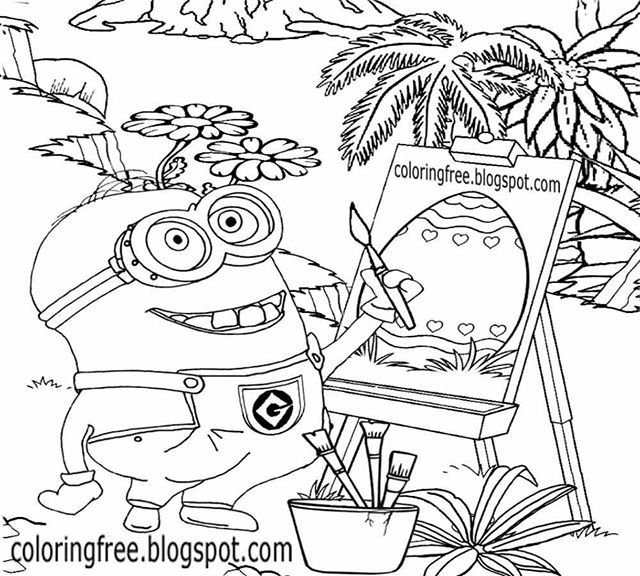 Round Up Of Popular Cartoon Characters Free Printable Coloring Pages For Easter Credi Minion Coloring Pages Cool Coloring Pages Free Printable Coloring Pages