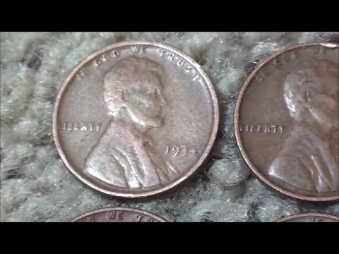 PENNIES WORTH KEEPING found searching customer wrapped rolls - YouTube