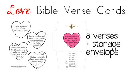 bible verse valentines day card